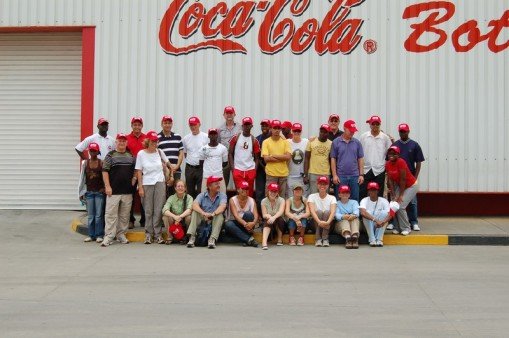 Field group visit Bom Jesus town and Coca Cola plant.