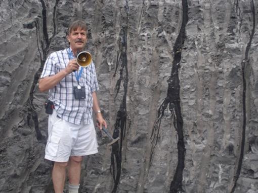 Geologist Tako Koning.