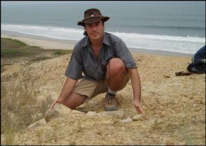 The first dinosaur, a sauropod, found in Angola by Portuguese paleontologist Octavio Mateus.