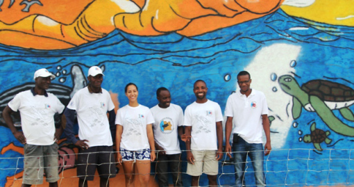 Team of university students working in the Kitabanga Project