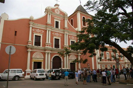 Historic church in Cidade Alta