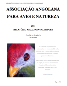 Annual Report Birds Angola 2014