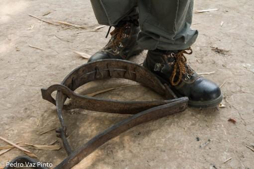 trap foot