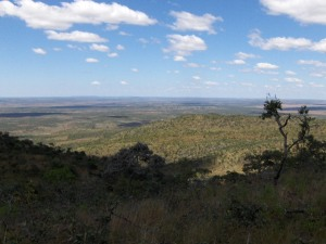 View from Mount Sumi, 25 km north of Huambo.
