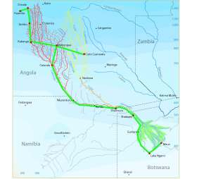 Okavango River | Angola Field Group Okavango Basin Information System