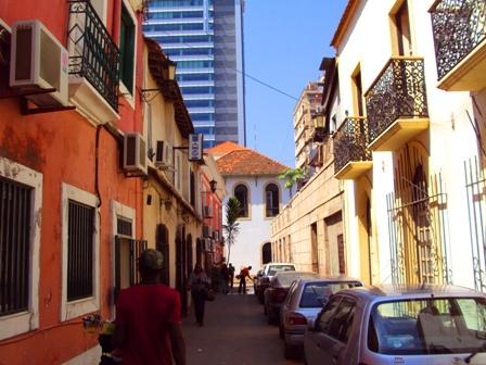 Downtown Luanda.