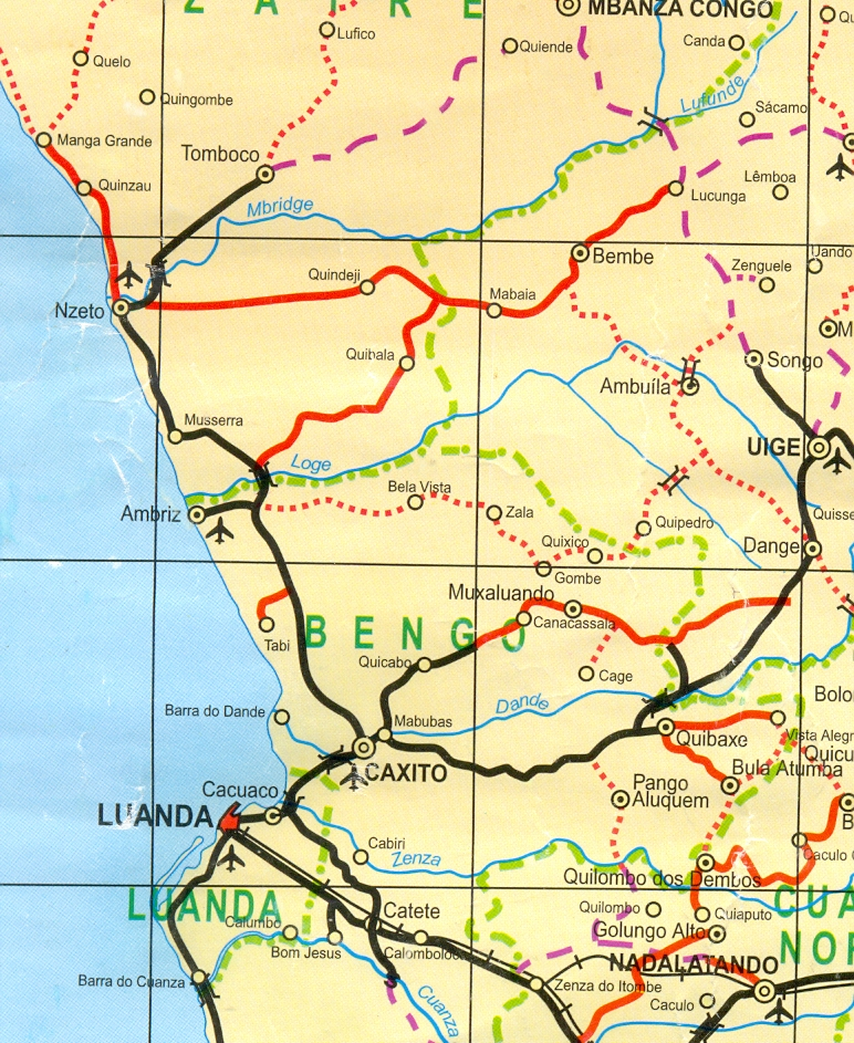 Search Results Angola Field Group Page - Angola provinces map