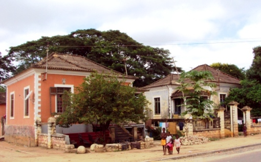 Some colonial homes still remain in the area of the sugar factory