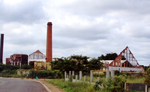 The old sugar factory.