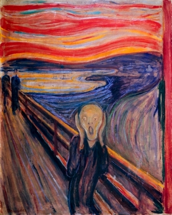 The Scream, painting by Edvard Munsch