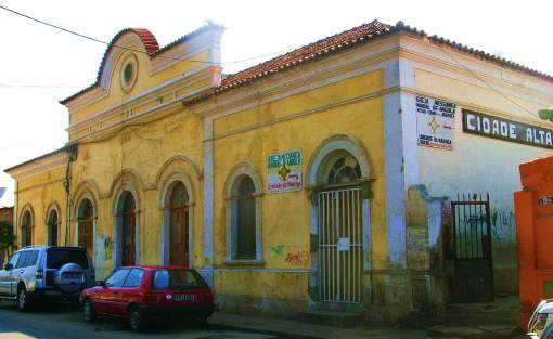 Former Cidade Alta train station. Photo by H. Koning.